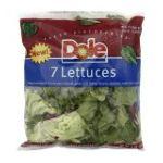 Dole - Seven Lettuces 0071430010570  / UPC 071430010570