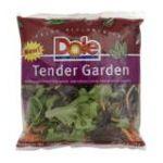 Dole - Tender Garden 0071430010587  / UPC 071430010587