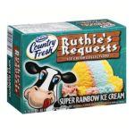 Dean's Foods -  Dean's Ruthie's Requests Super Rainbow Ice Cream 0071600066543
