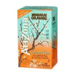 Arizona - Mandarin Orange Green Tea With Ginseng & Honey Jasmine 0072310008519  / UPC 072310008519