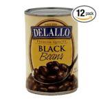 Delallo -  Black Beans 0072368015309