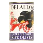 Delallo -  Olives Super Colossal Pitted 0072368104485