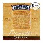 Delallo -  Vanilla Pizzelle Units 0072368215457