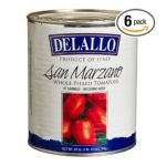 Delallo -  Imported San Marzano Whole Peeled Tomatoes Cans 0072368425184