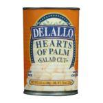 Delallo -  Salad Cut Hearts Of Palm Unit 0072368458243