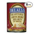 Delallo -  Quartered Artichokes Unit 0072368909783