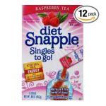 Snapple - Diet Singles To Go Tea Raspberry 0072392339976  / UPC 072392339976