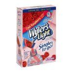 Wyler's -  Light To Go Drink Mix Raspberry 0072392352241