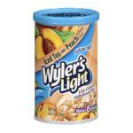 Wyler's -  Light Iced Tea With Peach Soft Drink Mix 0072392352562