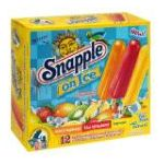 Snapple - Flavored Ice Pops 12 ea 0072586249821  / UPC 072586249821