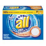 All - All Oxi-active Micro-boost Formula Powder Laundry Detergent 0072613456864  / UPC 072613456864