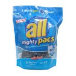 All - Mighty Pacs Original 4x Concentrated Laundry Detergent 24 Loads 0072613458516  / UPC 072613458516