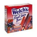 Welch's -  Fruit Juice Bars 0072800797015