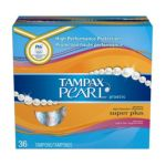 Tampax - Pearl Super Tampons With Plastic Applicator Fresh Scent 0073010003767  / UPC 073010003767