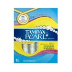Tampax - Pearl Plastic Regular Absorbency Scented Tampons 0073010006096  / UPC 073010006096