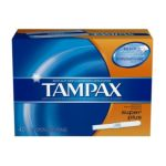 Tampax - Flushable Cardboard Applicator Super Plus 40 0073010421103  / UPC 073010421103