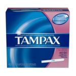 Tampax - Biodegradable Slender Regular Absorbency 40 Tampons 40 tampons 0073010521100  / UPC 073010521100