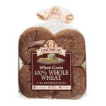 Arnold - 100% Whole Wheat Whole Grain Hamburger Buns 0073130000752  / UPC 073130000752