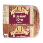 Arnold - Sliced Russian Rye Bread 0073130025250  / UPC 073130025250
