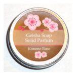 Geisha Soap -  Organic Kimono Rose Solid Perfume 0073168379301