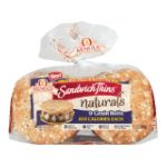 Arnold -   None Sandwich Thins 9 Grain Rolls 0073410135303 UPC 07341013530