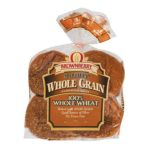 Arnold - 100% W W Sandwich Buns Whole Grain 0073410163238  / UPC 073410163238