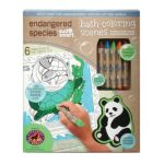 Endangered Species Chocolate -  Endangered Species Bath Coloring Scenes Set 1 Set 1 set 0074213018503