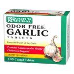 Good 'n Natural -  Odor Free Garlic Tablets Cholesterol Support, 100 tablet,100 count 0074312466069