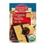 Arrowhead Mills - Organic Vanilla Cake Mix 0074333383024  / UPC 074333383024