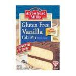 Arrowhead Mills - Organic Gluten-free Cake Mix Vanilla 0074333383222  / UPC 074333383222