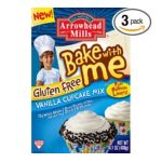Arrowhead Mills -  Bake With Me Gluten Free Vanilla Cupcake Mix Boxes 0074333383345