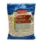 Arrowhead Mills - Organic Puffed Kamut Cereal 0074333474340  / UPC 074333474340