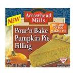 Arrowhead Mills - Pour N' Bake Pumpkin Pie Filling 0074333501152  / UPC 074333501152
