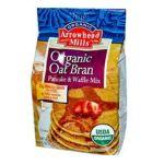 Arrowhead Mills - Organic Oat Bran Pancake & Waffle Mix 0074333683858  / UPC 074333683858