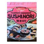 Archipelago -  Shirakiku Sushi Nori Seaweed Sheets 50 Sheets 0074410510565