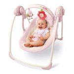 Kids II brands - Bright Starts Comfort & Harmony Portable Swing, Vintage Garden 0074451069312  / UPC 074451069312