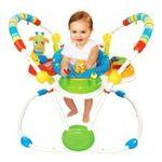 Kids II brands - Bright Starts Activity Jumper, Cute Critters 0074451069428  / UPC 074451069428
