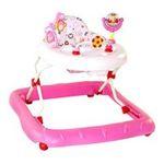 Kids II brands - Bright Starts Walk-A-Bout Walker, Pretty in Pink 0074451069947  / UPC 074451069947