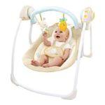 Kids II brands - Bright Starts Cotton Tale Portable Swing 0074451070295  / UPC 074451070295