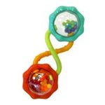 Kids II brands - Bright Starts Rattle and Shake Barbell Rattle 0074451081888  / UPC 074451081888
