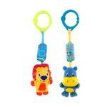 Kids II brands - Kids II, Inc.   Bright Starts Chime Along Friends (Assorted) 0074451084872  / UPC 074451084872