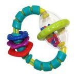 Kids II brands - Bright Starts Grab and Spin Rattle 0074451085336  / UPC 074451085336