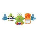 Kids II brands - Bright Starts Hop Along Carrier Toy Bar - Neutral 0074451085558  / UPC 074451085558