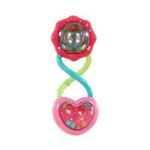 Kids II brands - Bright Starts Rattle and Shake Barbell Rattle, Pretty in Pink 0074451086722  / UPC 074451086722