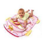 Kids II brands - Bright Starts Tummy Cruiser Prop & Play Mat - Pink 0074451088191  / UPC 074451088191
