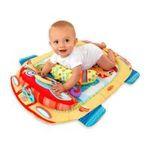 Kids II brands - Bright Starts Tummy Cruiser Prop & Play Mat - Blue 0074451088559  / UPC 074451088559