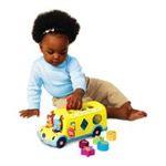 Kids II brands - Bright Starts Cruise N' Sort Bus Toy 0074451090002  / UPC 074451090002