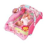 Kids II brands - Bright Starts Baby's Deluxe Play Place, Pink 0074451090101  / UPC 074451090101