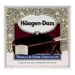 Häagen-Dazs - All Natural Ice Cream Bars 0074570003105  / UPC 074570003105