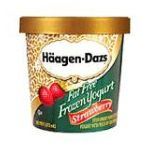Häagen-Dazs - Fat Free Frozen Yogurt 1 pt 0074570023844  / UPC 074570023844